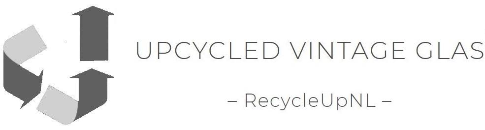 Upcycled Vintage Glas